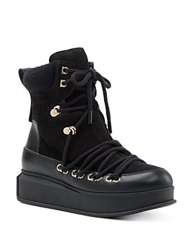 Salvatore Ferragamo - Women's Lace Up Platform Boots