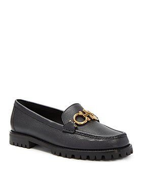 Salvatore Ferragamo - Women's Logo Embellished Loafers