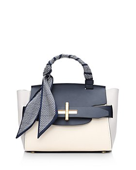 ZAC Zac Posen - Brigette Belted Leather Mini Satchel