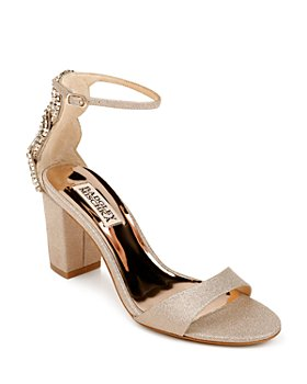 Badgley Mischka - Women's Zabella Crystal Back High Heel Sandals
