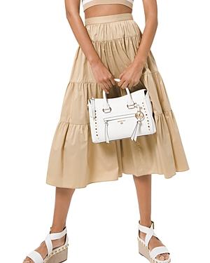 Michael Michael Kors Poplin Tiered Skirt-Women