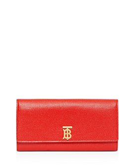 Burberry - Monogram Motif Grainy Leather Continental Wallet