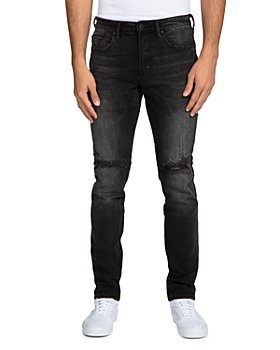 PRPS - Black Fade Slim Fit Jeans in Black
