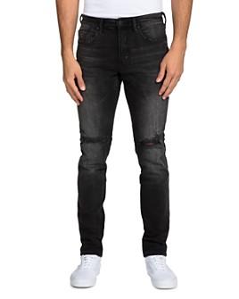 PRPS - Black Fade Slim Fit Jeans in Black