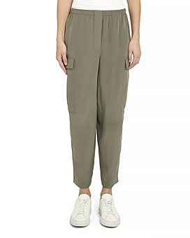 Theory - Sandwash Silk Cargo Pants