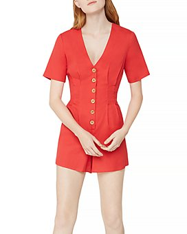 BCBGeneration - Button Front Romper
