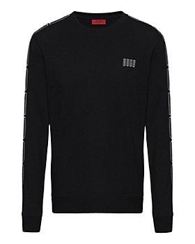 HUGO - Doby203 Cotton Logo Taped Regular Fit Sweatshirt