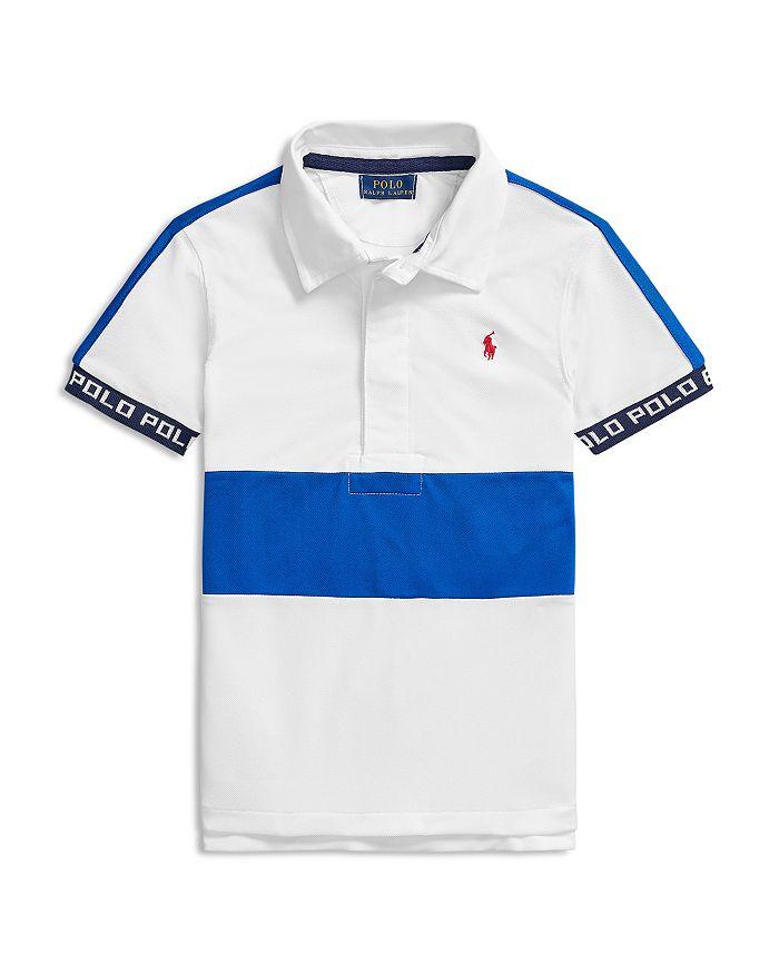Ralph Lauren - Boys' Stretch Mesh Polo Shirt - Little Kid, Big Kid