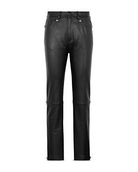 CHRISTOPHER KANE - Dome Stud Leather Pants