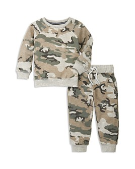 Sovereign Code - Boys' Incurved Camo Print Sweatshirt & Pants Set - Baby