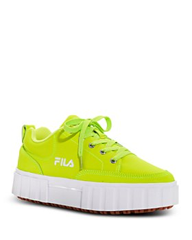 FILA - Women's Sandblast Low Top Sneakers