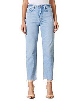 GRLFRND - Helena Super High Rise Ripped Jeans in Gonna Love Me