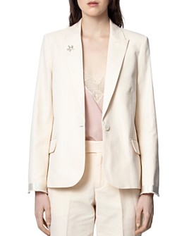 Zadig & Voltaire - Victor Tailored Suit Jacket