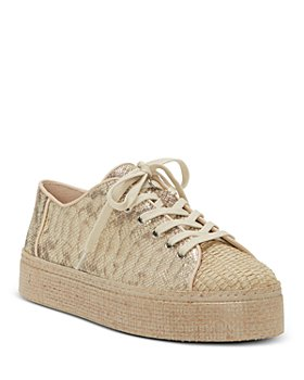 VINCE CAMUTO - Women's Calitrie Platform Jute-Toe Sneakers