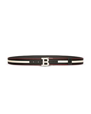 Bally Belts MEN'S B BUCKLE REVERSIBLE BELT