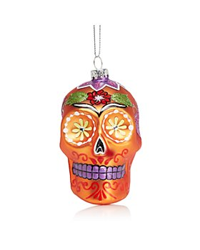 Bloomingdale's - Skull Ornament - 100% Exclusive