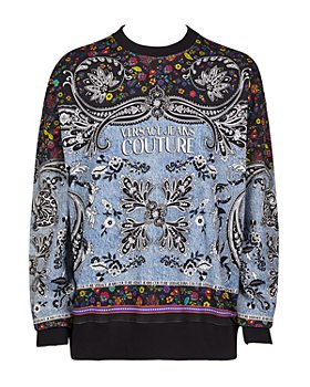 Versace Jeans Couture - Bandana Print Sweatshirt