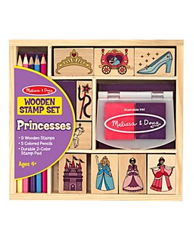 Melissa & Doug - Princess Stamp Set