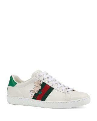 Gucci Women's Ace Kitten Sneakers