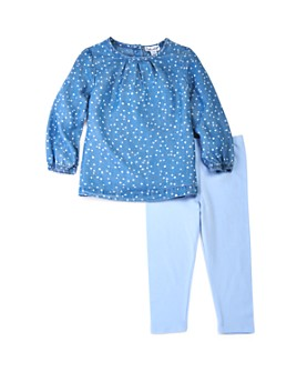 Splendid - Girls' Dotted Top & Pants Set - Baby