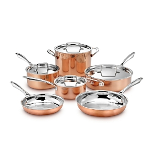 Cuisinart Copper Tri Ply 10 Piece Cookware Set