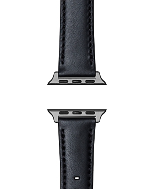 Shinola Essence Leather Strap for Apple Watch, 24mm