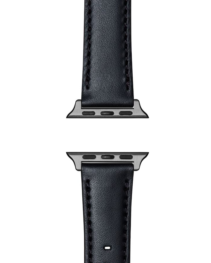 Shinola Essence Leather Strap for Apple Watch®, 24mm    Bloomingdale's