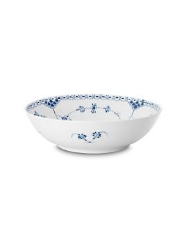 "Royal Copenhagen - ""Blue Fluted Half Lace"" Round Open Bowl"