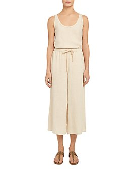 Theory - Linen Cropped Pants