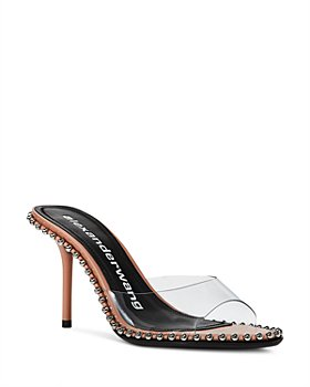 Alexander Wang - Women's Nova 95 Studded High Heel Sandals