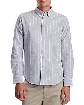 rag & bone - Tomlin Slim Fit Striped Oxford Shirt