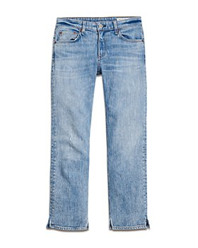 rag & bone - Dre Straight Jeans in Arrow High