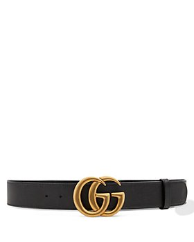 Gucci - Men's Leather Belt with Double G Buckle