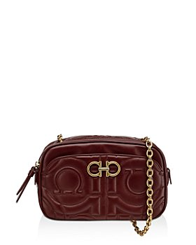 Salvatore Ferragamo - Mufasa Quilted Mini Leather Crossbody Bag