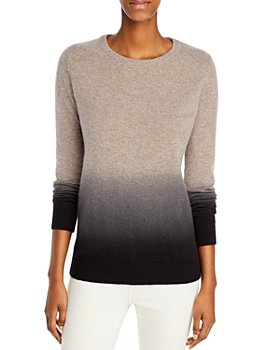 C by Bloomingdale's - Dip Dyed Cashmere Sweater - 100% Exclusive