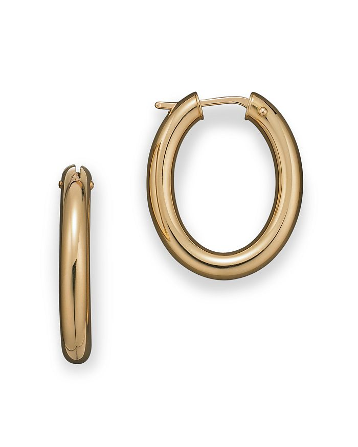 Roberto Coin - 18 Kt. Yellow Gold Small Hoop Earrings