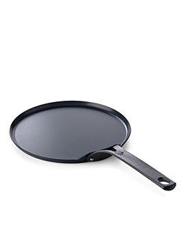 """BK Cookware - Black Carbon Steel Pancake Pan, 10"""""""