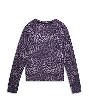 Spiritual Gangster Girls\\\' Cheetah Raglan Sweatshirt - Big Kid
