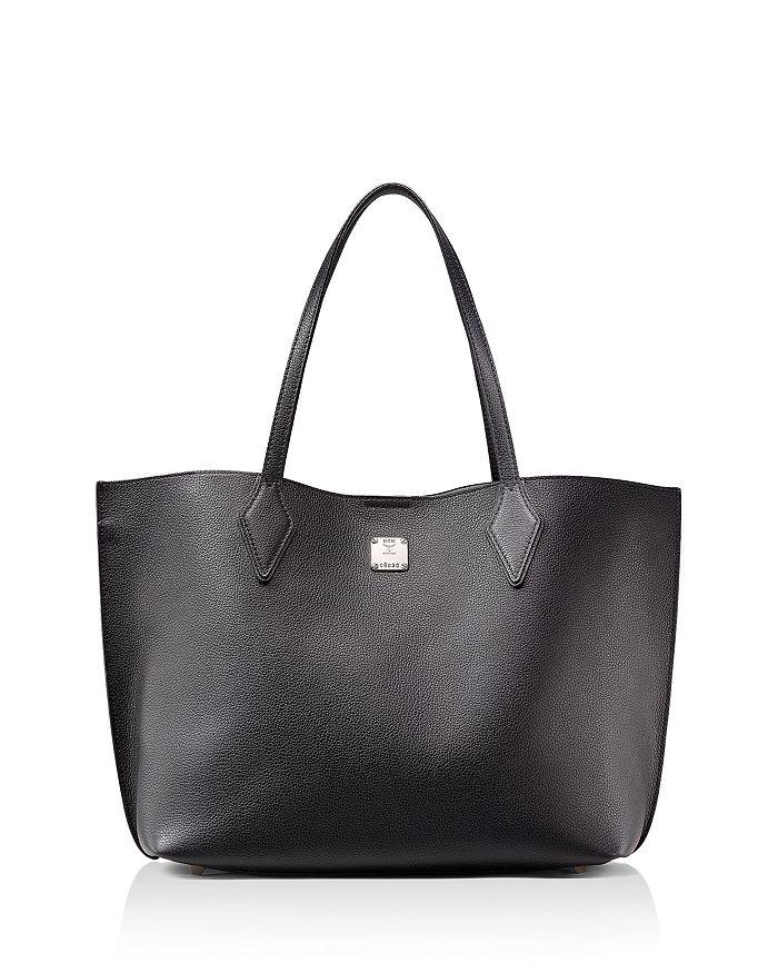MCM - Yris Medium Leather Shopper