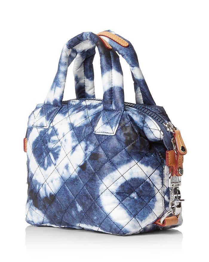 MZ WALLACE - Sutton Micro Indigo Tie Dye Crossbody Bag
