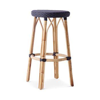 Sika Design - Simone Rattan Bistro Bar Stool