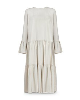 ALLSAINTS - Lori Striped Tiered Dress