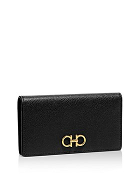 Salvatore Ferragamo - Score Mini Leather Continental Wallet