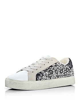 AQUA - Women's Tess Lace Up Embellished Sneakers - 100% Exclusive