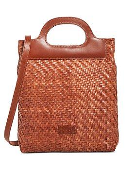 CALA JADE - Kinobi Hand-Braided Leather Mini Shoulder Bag