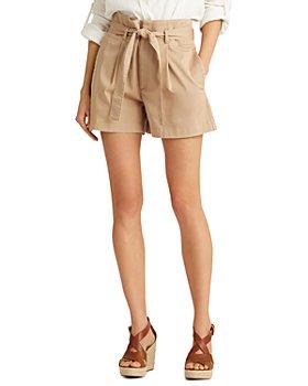 Ralph Lauren - Belted Shorts