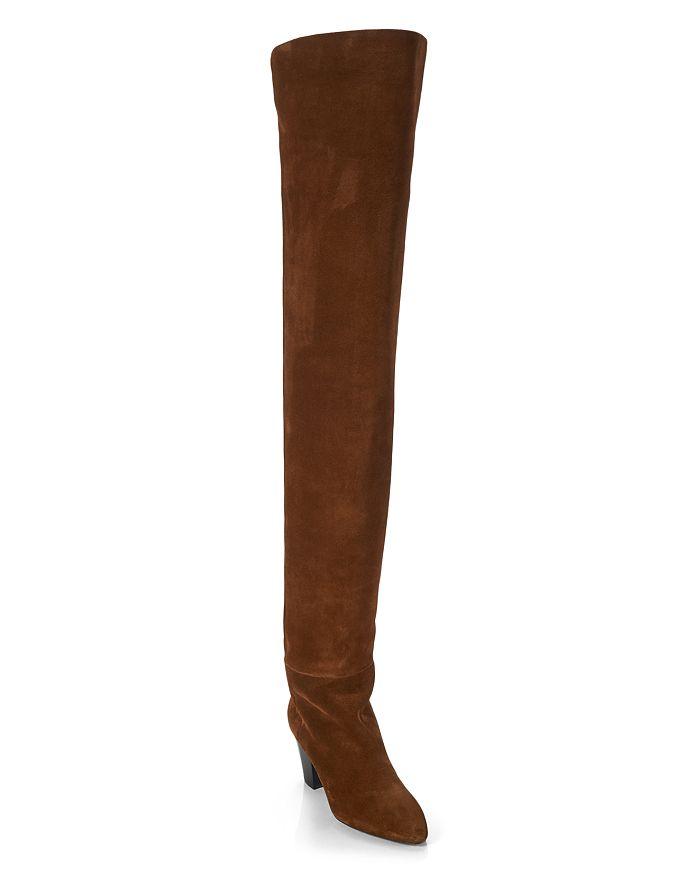 Saint Laurent Women's Kim Over-the-Knee Boots | Bloomingdale's