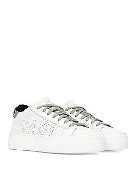 P448 - Women's Thea Lace Up Platform Sneakers