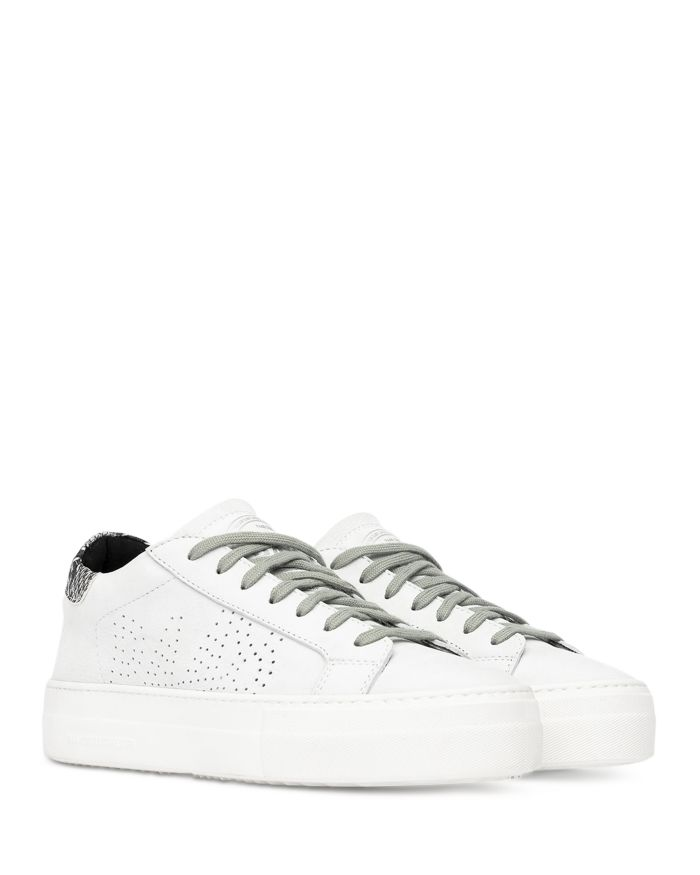 P448 Women's Thea Lace Up Platform Sneakers    Bloomingdale's