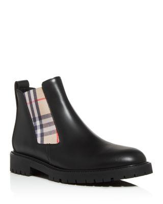 Burberry Men's Allostock Chelsea Boots